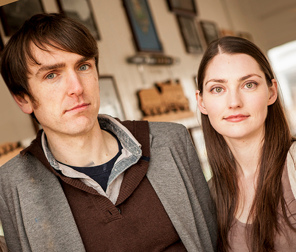 Zoe Conway and John McIntyre